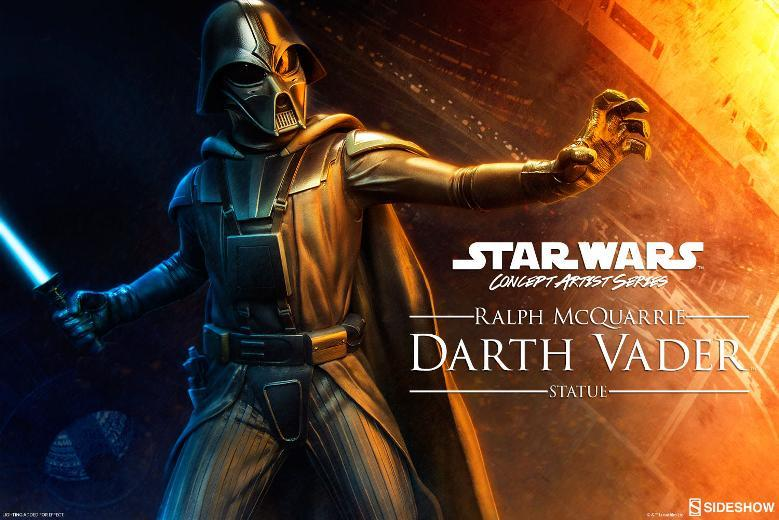 Sideshow Collectibles - Ralph McQuarrie Darth Vader Statue Ralph-12