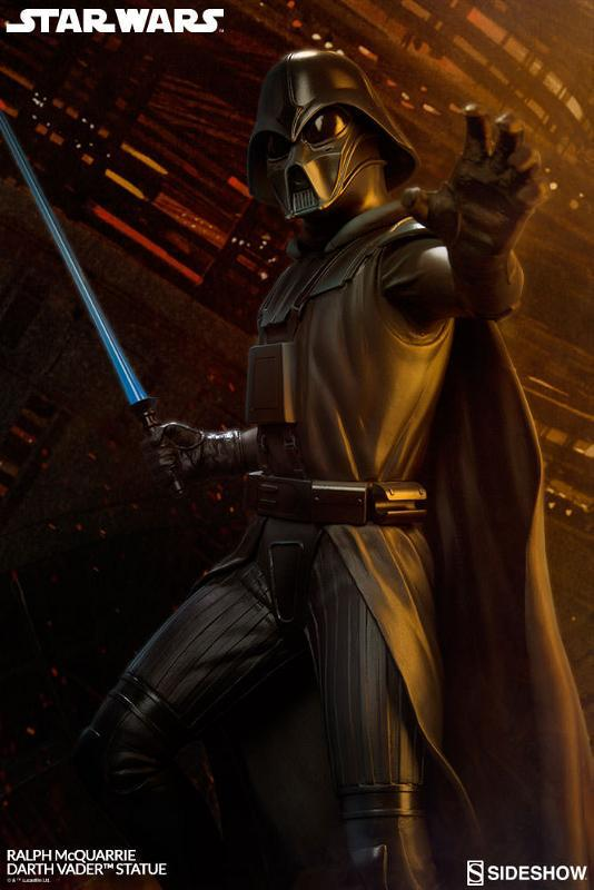 Sideshow Collectibles - Ralph McQuarrie Darth Vader Statue Ralph-14