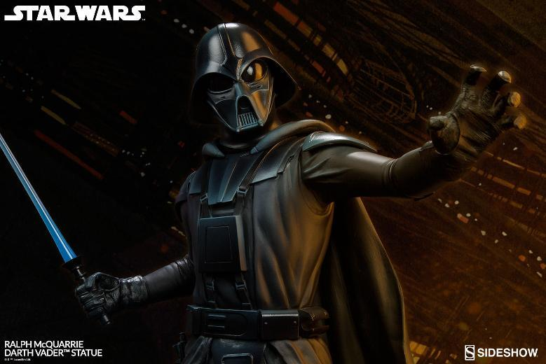 Sideshow Collectibles - Ralph McQuarrie Darth Vader Statue Ralph-15