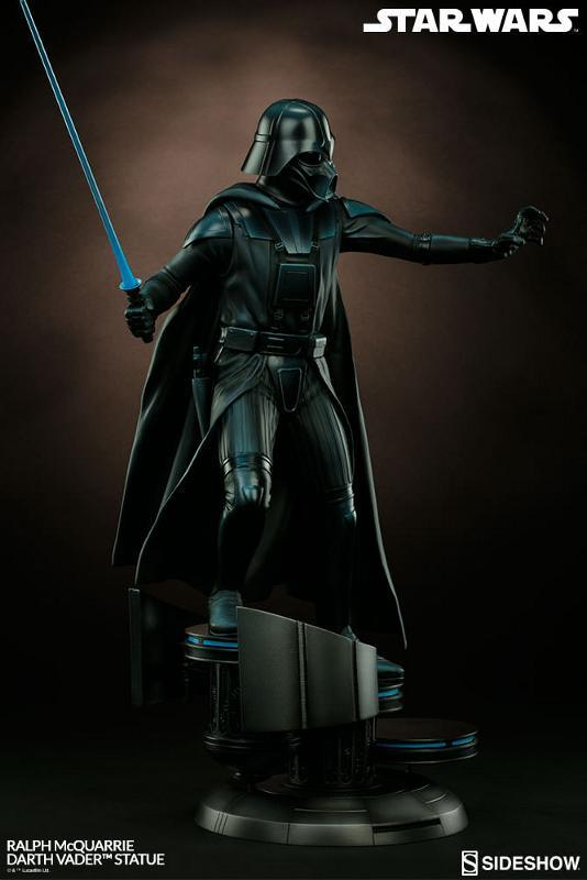 Sideshow Collectibles - Ralph McQuarrie Darth Vader Statue Ralph-16