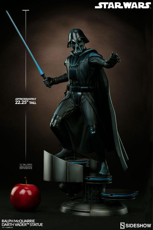 Sideshow Collectibles - Ralph McQuarrie Darth Vader Statue Ralph-18