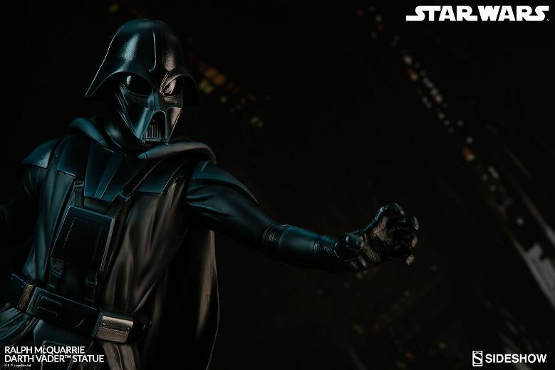 Sideshow Collectibles - Ralph McQuarrie Darth Vader Statue Ralph-24
