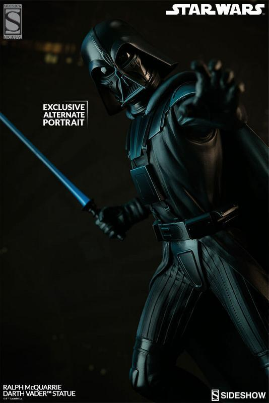 Sideshow Collectibles - Ralph McQuarrie Darth Vader Statue Ralph-25