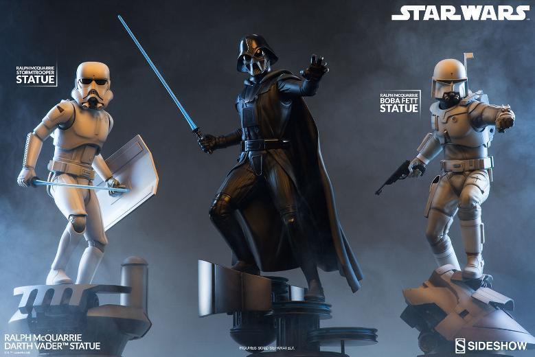 Sideshow Collectibles - Ralph McQuarrie Darth Vader Statue Ralph-27