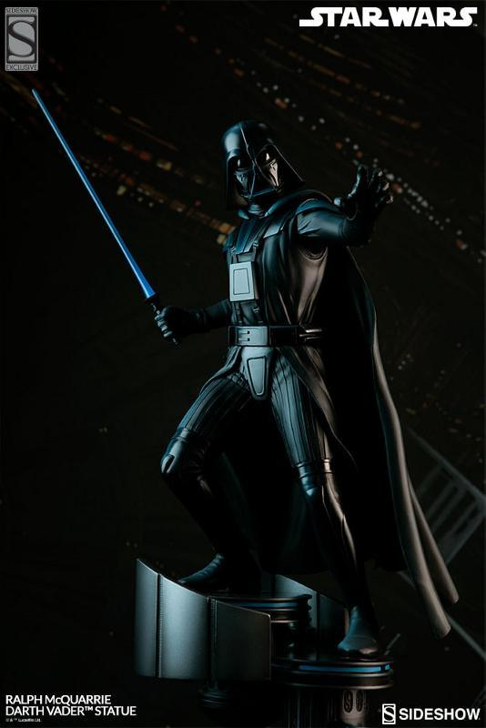 Sideshow Collectibles - Ralph McQuarrie Darth Vader Statue Ralph-30