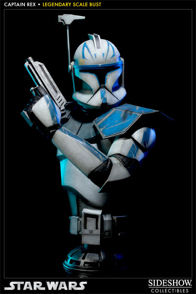 Sideshow - Clone Trooper Rex - Legendary Scale Bust Rexleg10