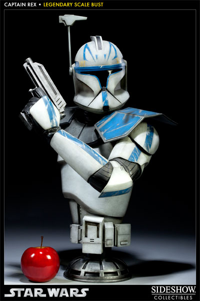 Sideshow - Clone Trooper Rex - Legendary Scale Bust Rexleg11