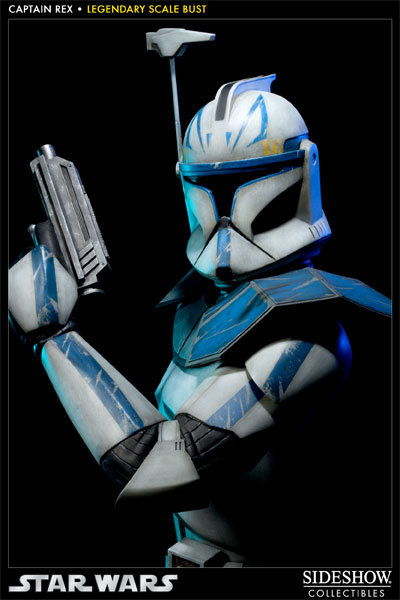 Sideshow - Clone Trooper Rex - Legendary Scale Bust Rexleg12