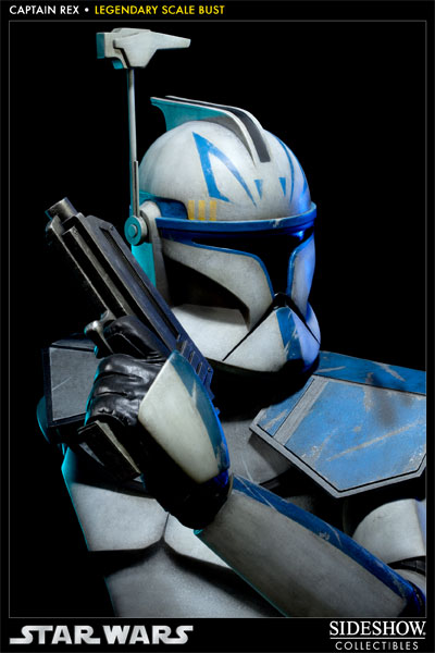 Sideshow - Clone Trooper Rex - Legendary Scale Bust Rexleg13