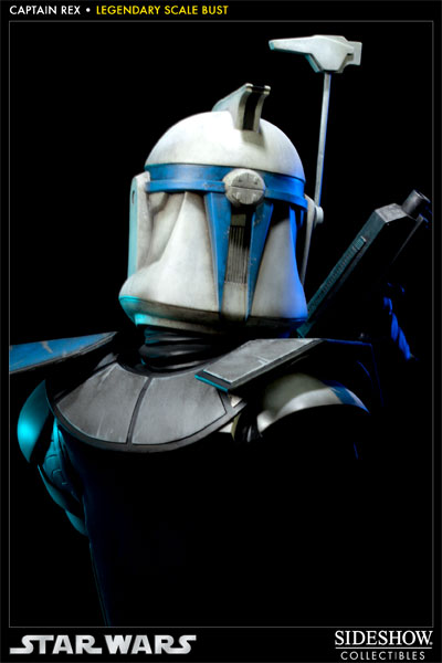 Sideshow - Clone Trooper Rex - Legendary Scale Bust Rexleg16