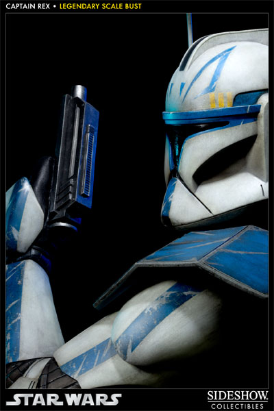 Sideshow - Clone Trooper Rex - Legendary Scale Bust Rexleg17
