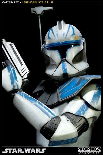 Sideshow - Clone Trooper Rex - Legendary Scale Bust Rexleg19