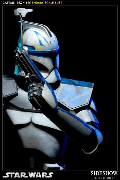 Sideshow - Clone Trooper Rex - Legendary Scale Bust Rexleg20
