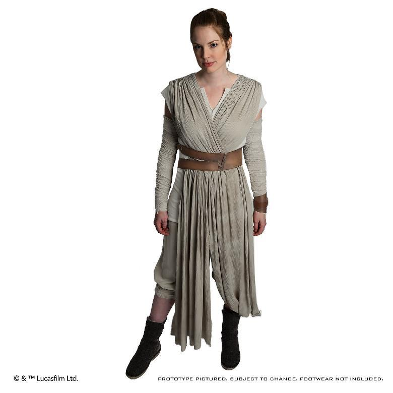 ANOVOS STAR WARS TFA : Rey Jakku Premier Costume Ensemble Rey-ja10