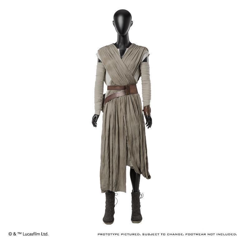 ANOVOS STAR WARS TFA : Rey Jakku Premier Costume Ensemble Rey-ja11