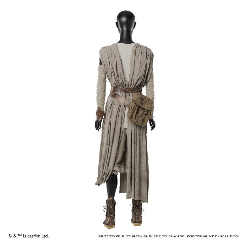ANOVOS STAR WARS TFA : Rey Jakku Premier Costume Ensemble Rey-ja12