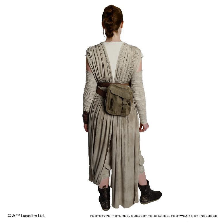 ANOVOS STAR WARS TFA : Rey Jakku Premier Costume Ensemble Rey-ja13