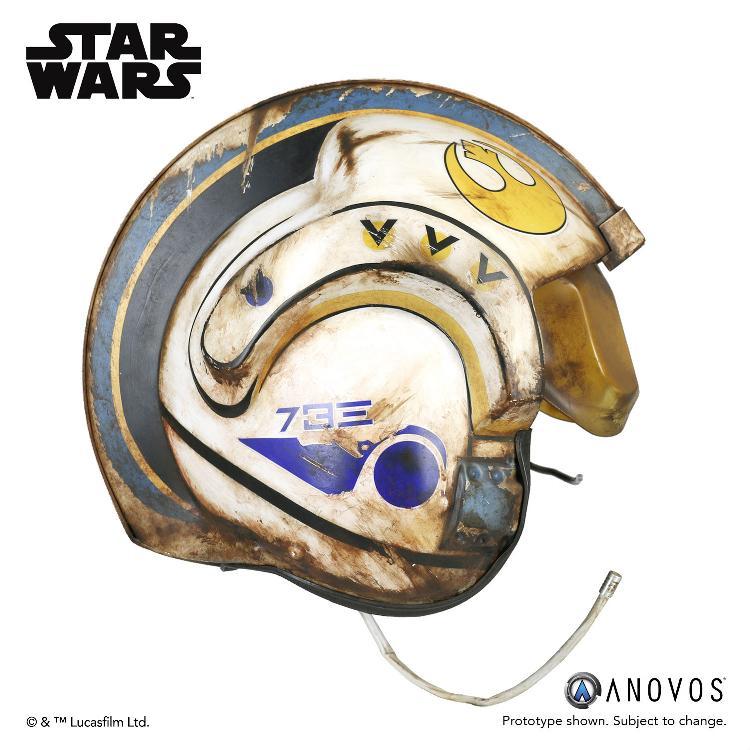 ANOVOS -  Star Wars TFA Rey Salvaged X-wing Helmet Accessory Rey_x-10
