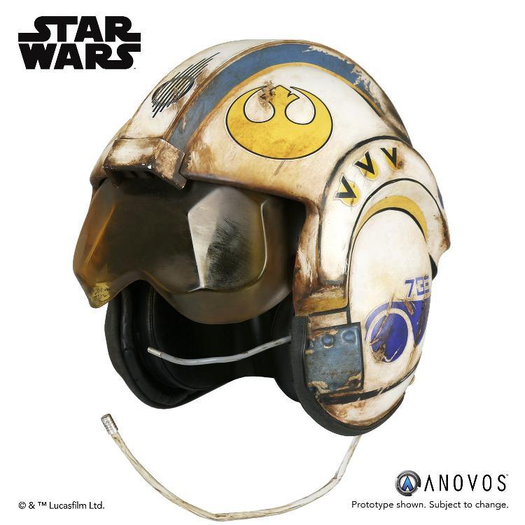 ANOVOS -  Star Wars TFA Rey Salvaged X-wing Helmet Accessory Rey_x-12