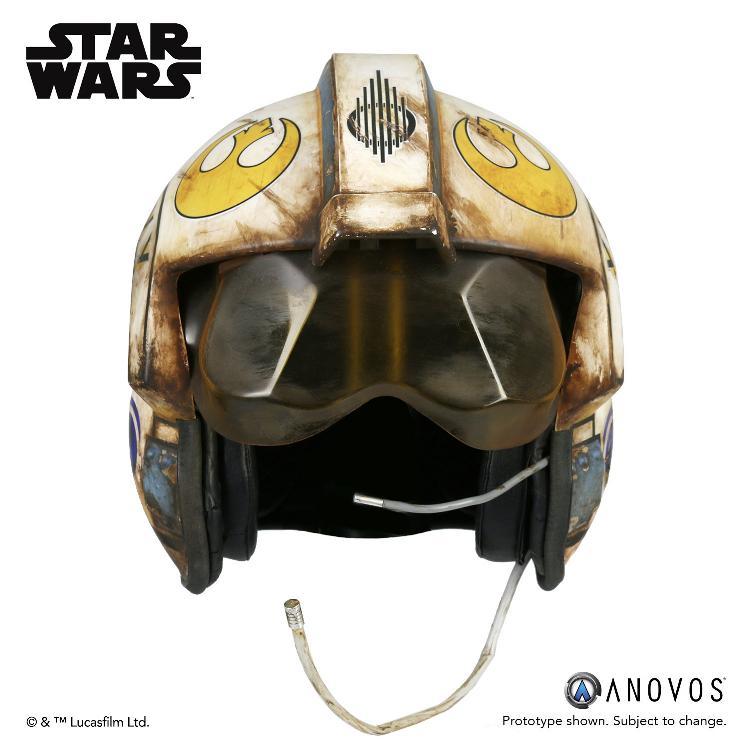 ANOVOS -  Star Wars TFA Rey Salvaged X-wing Helmet Accessory Rey_x-13