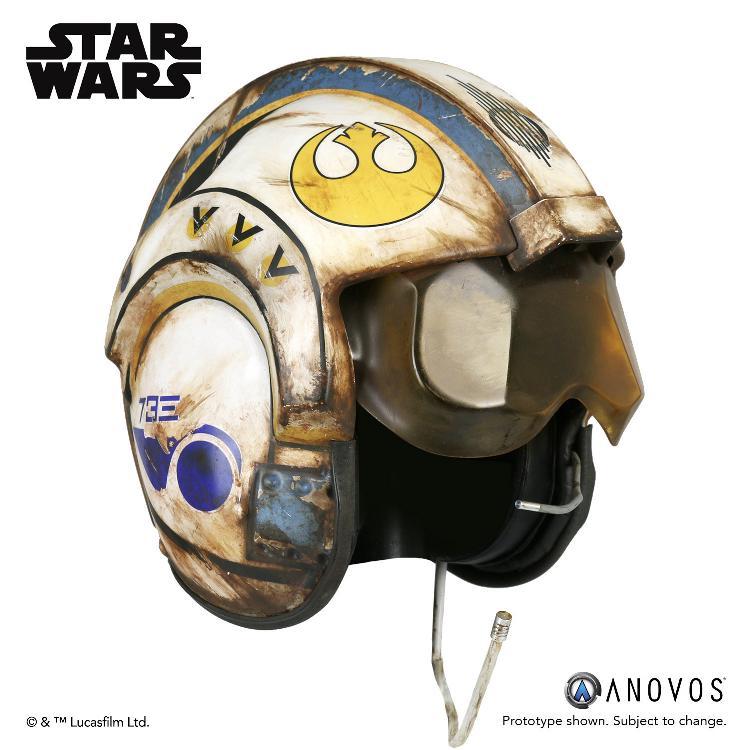 ANOVOS -  Star Wars TFA Rey Salvaged X-wing Helmet Accessory Rey_x-14