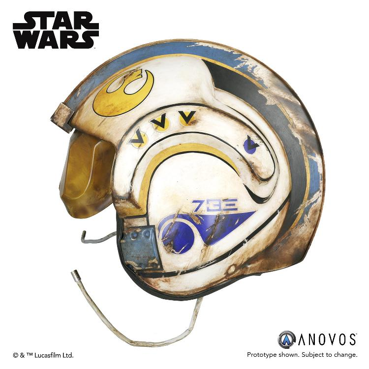 ANOVOS -  Star Wars TFA Rey Salvaged X-wing Helmet Accessory Rey_x-15