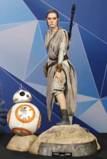 Sideshow Collectibles -Rey & BB-8 Premium Format Figure  Reybb810