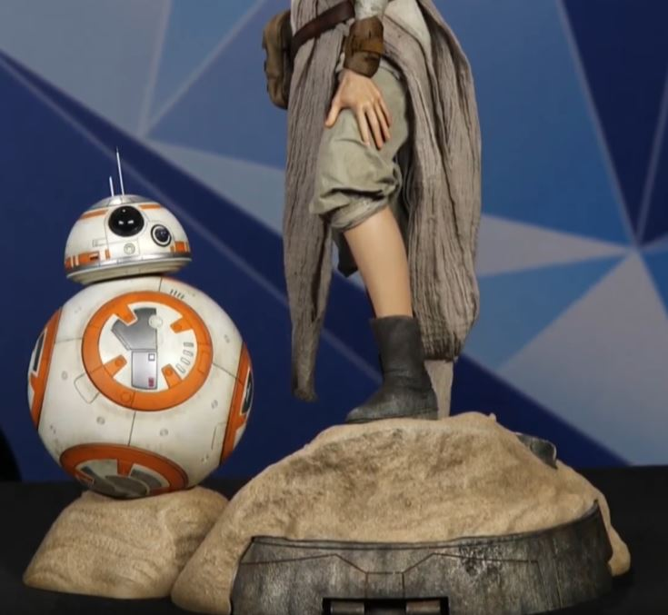 Sideshow Collectibles -Rey & BB-8 Premium Format Figure  Reybb812