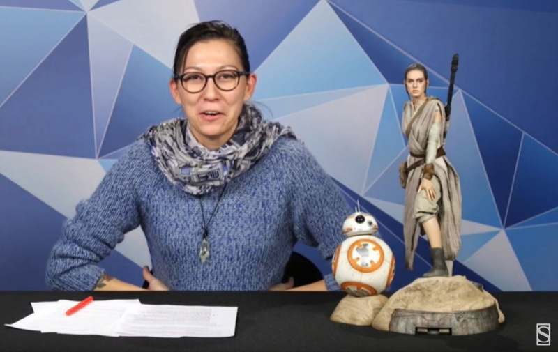 Sideshow Collectibles -Rey & BB-8 Premium Format Figure  Reybb813