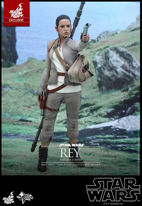 Hot Toys - TFA Rey Resistance Outfit 1/6th Scale Figure Reyres10