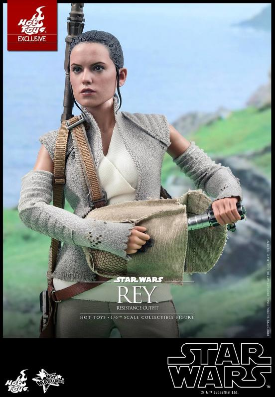 Hot Toys - TFA Rey Resistance Outfit 1/6th Scale Figure Reyres11