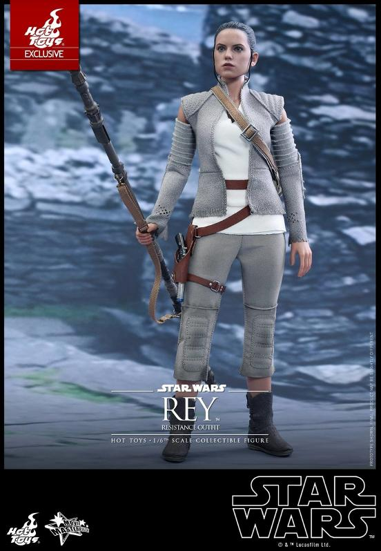 Hot Toys - TFA Rey Resistance Outfit 1/6th Scale Figure Reyres12