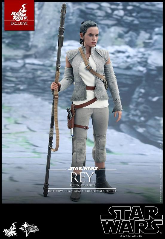 Hot Toys - TFA Rey Resistance Outfit 1/6th Scale Figure Reyres13