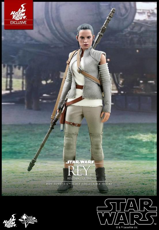 Hot Toys - TFA Rey Resistance Outfit 1/6th Scale Figure Reyres14