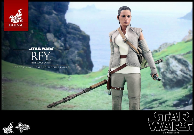 Hot Toys - TFA Rey Resistance Outfit 1/6th Scale Figure Reyres15