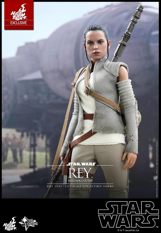 Hot Toys - TFA Rey Resistance Outfit 1/6th Scale Figure Reyres16