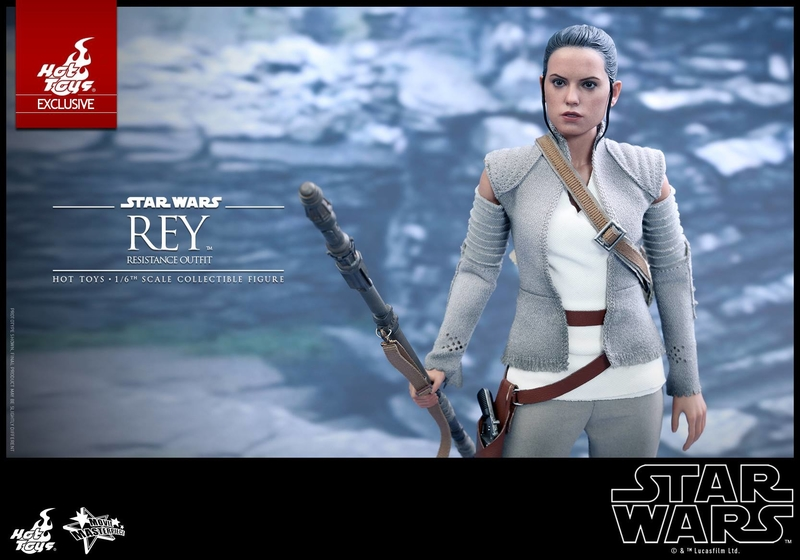 Hot Toys - TFA Rey Resistance Outfit 1/6th Scale Figure Reyres17