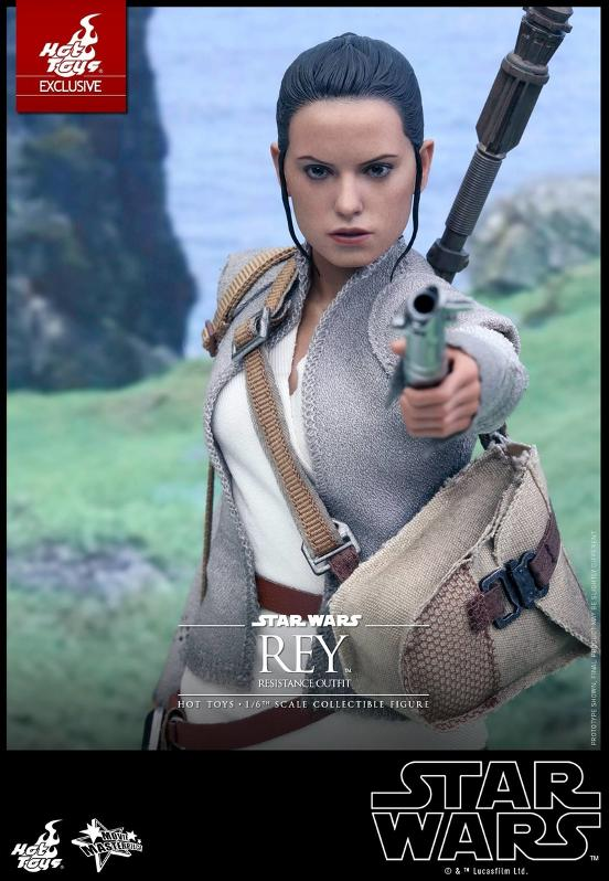 Hot Toys - TFA Rey Resistance Outfit 1/6th Scale Figure Reyres18