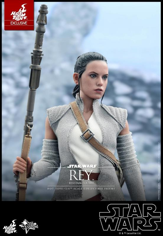 Hot Toys - TFA Rey Resistance Outfit 1/6th Scale Figure Reyres19