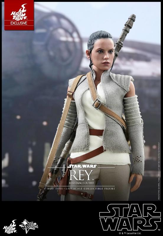 Hot Toys - TFA Rey Resistance Outfit 1/6th Scale Figure Reyres20