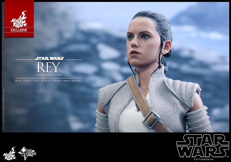 Hot Toys - TFA Rey Resistance Outfit 1/6th Scale Figure Reyres21