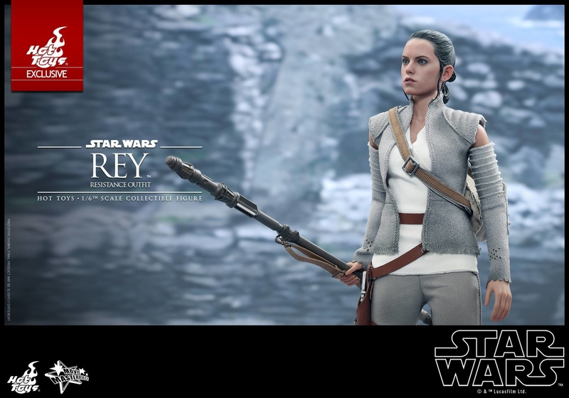 Hot Toys - TFA Rey Resistance Outfit 1/6th Scale Figure Reyres22
