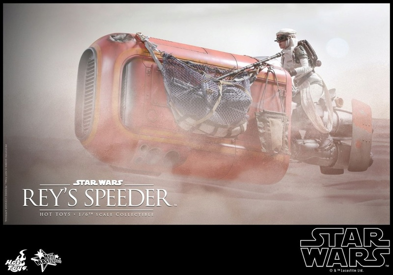 Hot Toys Star Wars Rey's Speeder Sixth Scale Collectible Reyspe10