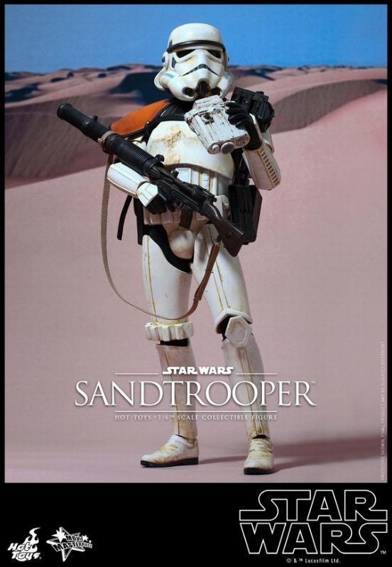 Hot Toys Star Wars EP4 1/6th scale Sandtrooper Figure Sandtr10