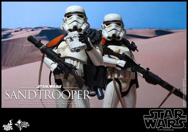 Hot Toys Star Wars EP4 1/6th scale Sandtrooper Figure Sandtr11