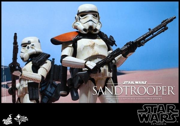Hot Toys Star Wars EP4 1/6th scale Sandtrooper Figure Sandtr13