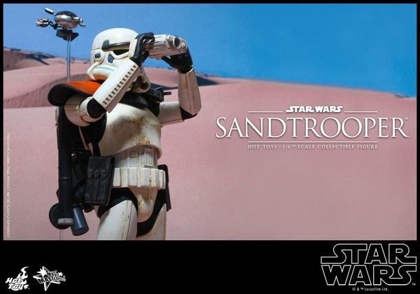 Hot Toys Star Wars EP4 1/6th scale Sandtrooper Figure Sandtr14