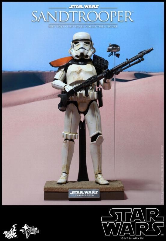 Hot Toys Star Wars EP4 1/6th scale Sandtrooper Figure Sandtr15