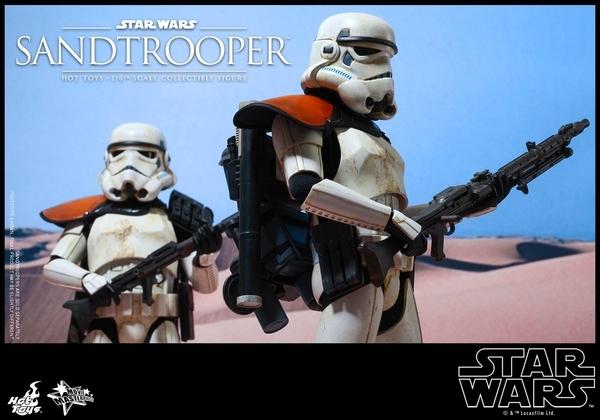 Hot Toys Star Wars EP4 1/6th scale Sandtrooper Figure Sandtr16