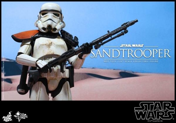 Hot Toys Star Wars EP4 1/6th scale Sandtrooper Figure Sandtr17